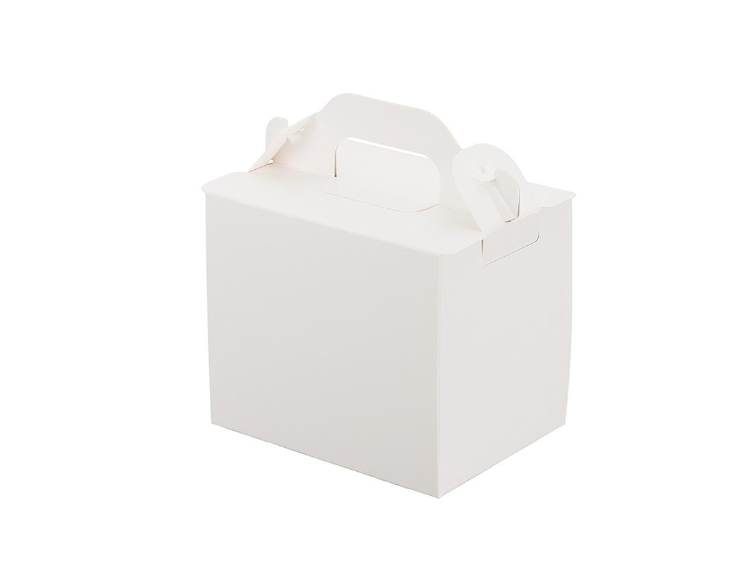 ケーキ箱 105折OPL-ホワイト 3×4