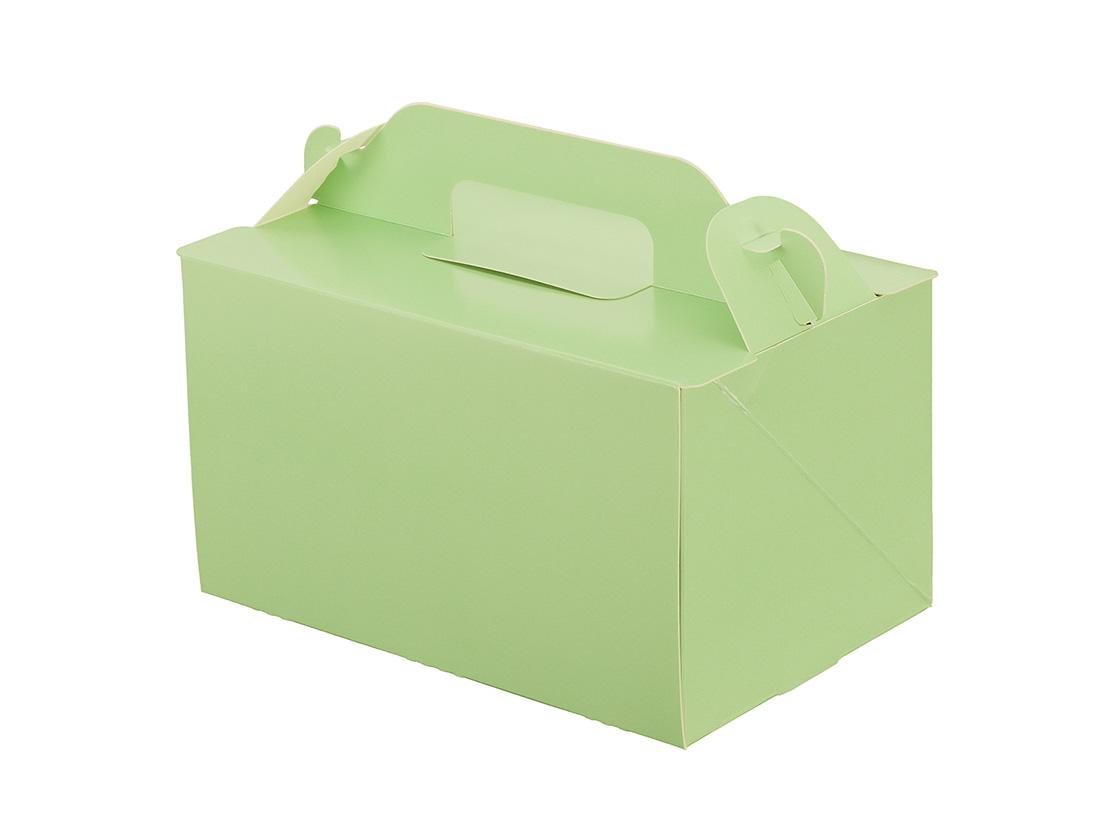 ケーキ箱 105OPL-ミント 4×6
