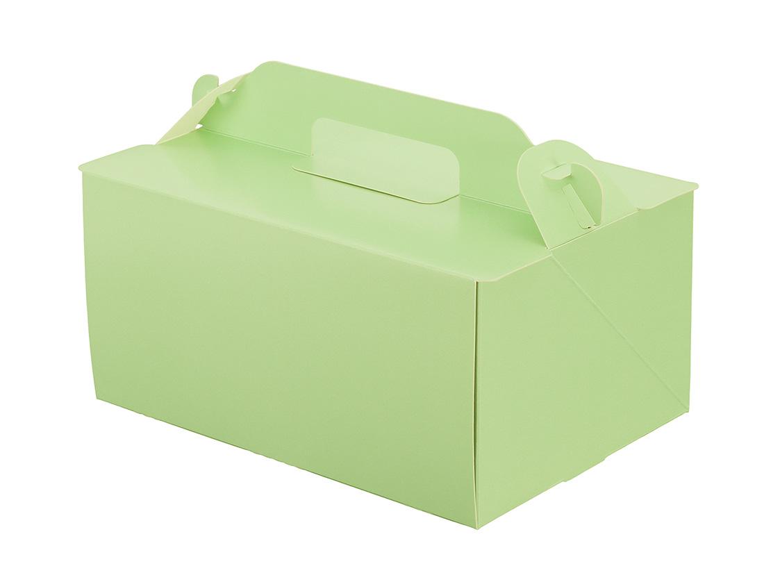 ケーキ箱 105OPL-ミント 5×7