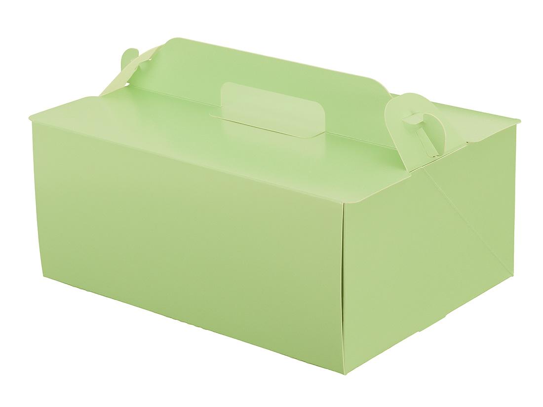 ケーキ箱 105OPL-ミント 6×8