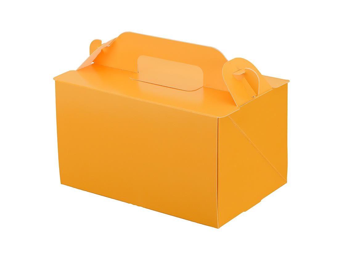 ケーキ箱 105OPL-オレンジ 4×6