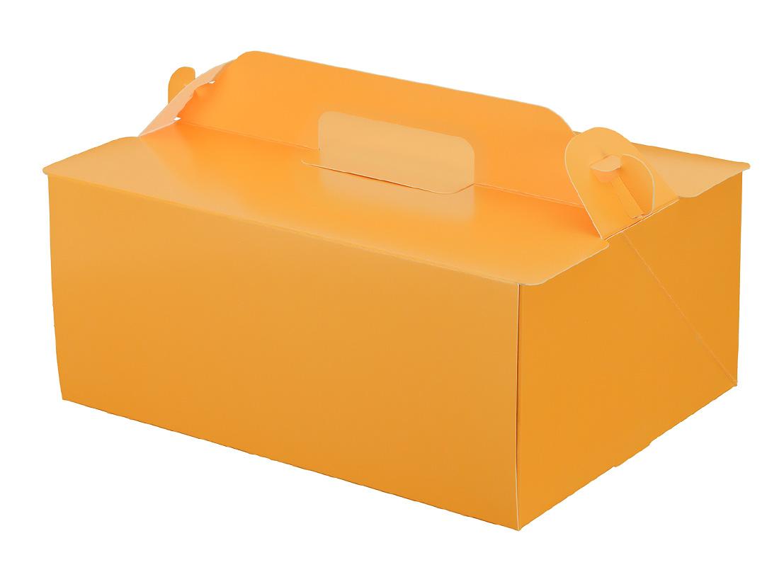 ケーキ箱 105OPL-オレンジ 6×8