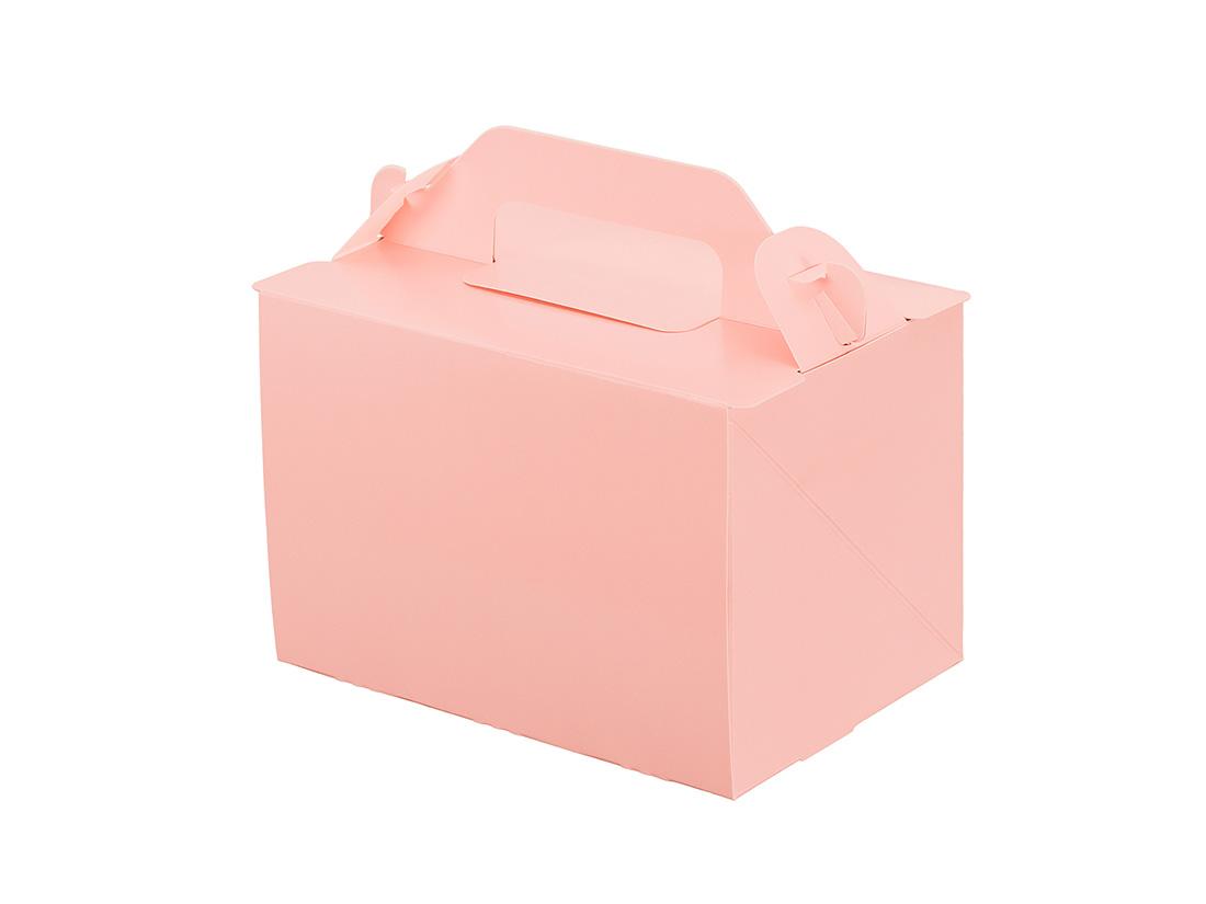 ケーキ箱 105OPL-ピーチ 3.5×5