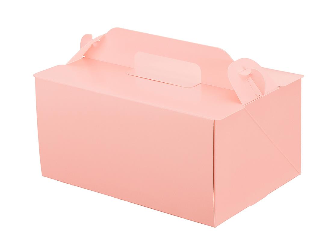 ケーキ箱 105OPL-ピーチ 5×7