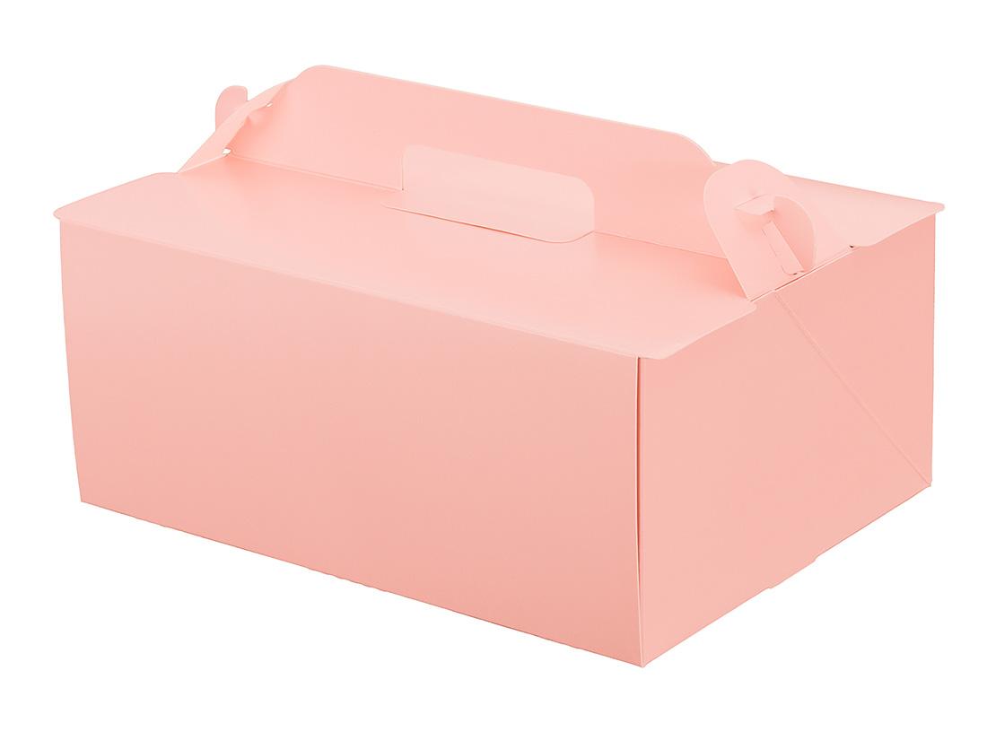 ケーキ箱 105OPL-ピーチ 6×8