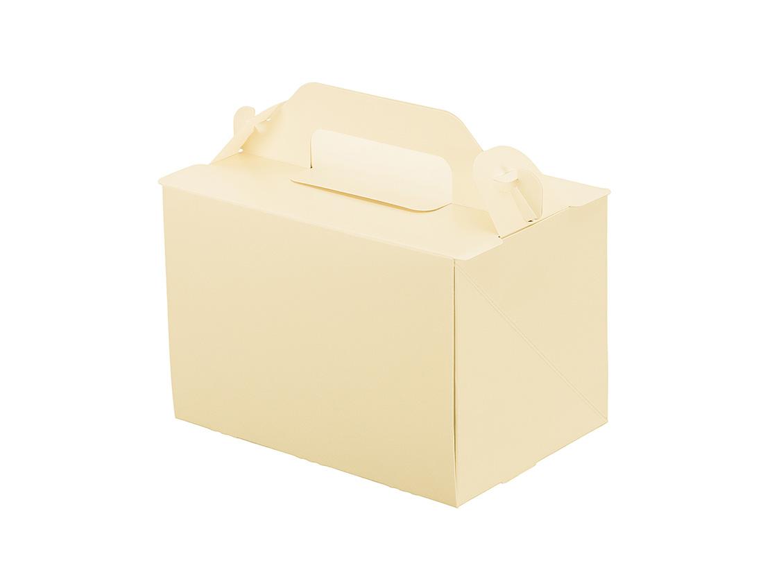ケーキ箱 105OPL-バニラ 3.5×5
