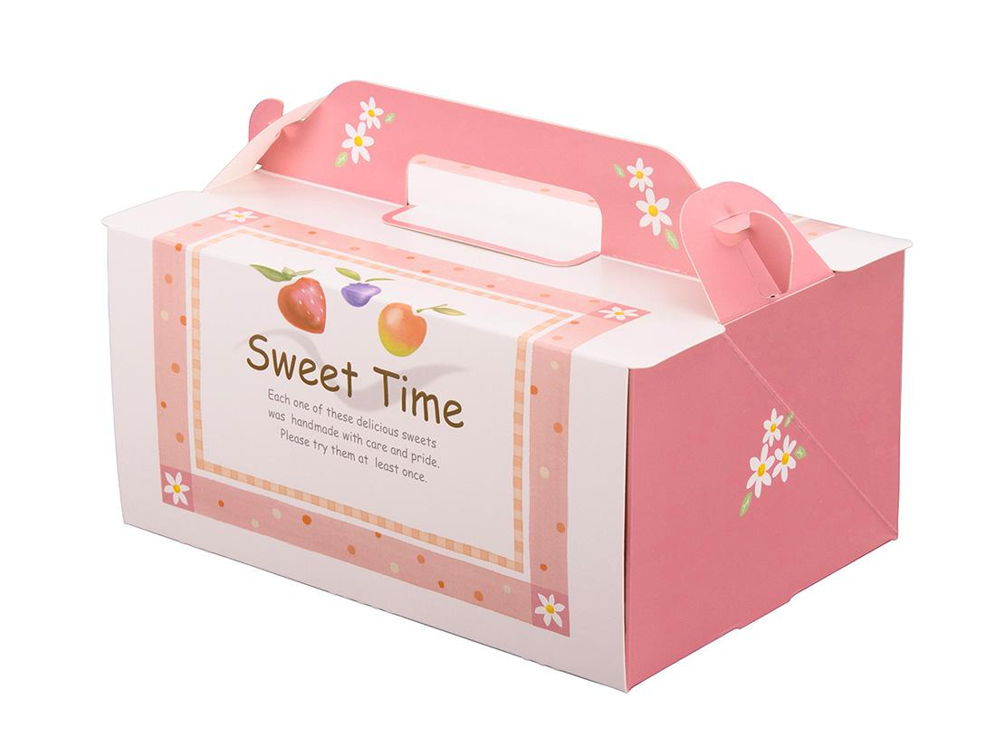 ケーキ箱 105OPL-スウィート 5×7