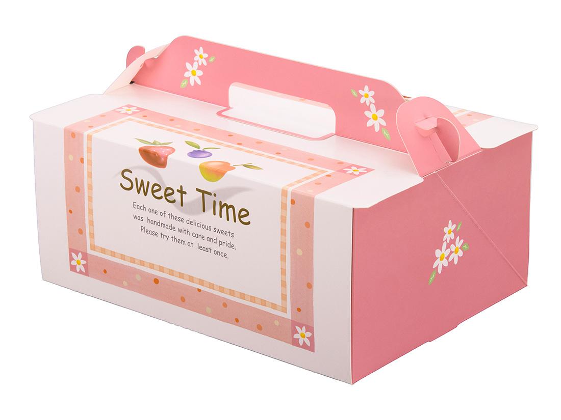ケーキ箱 105OPL-スウィート 6×8