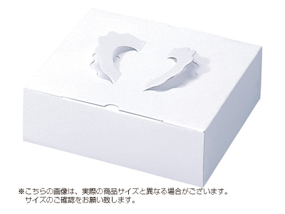 ガトー・白ム地 4寸用(トレーなし)