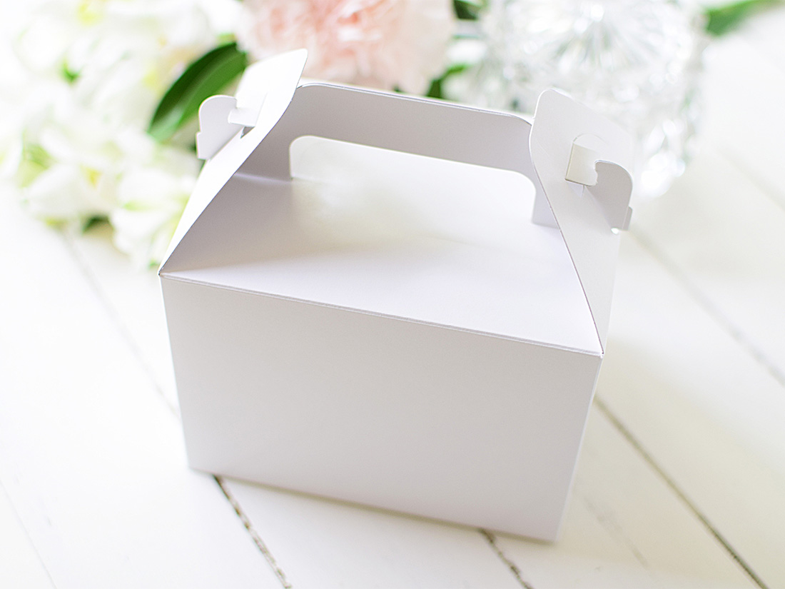 ケーキ箱 手提トップオープンNC 3×4