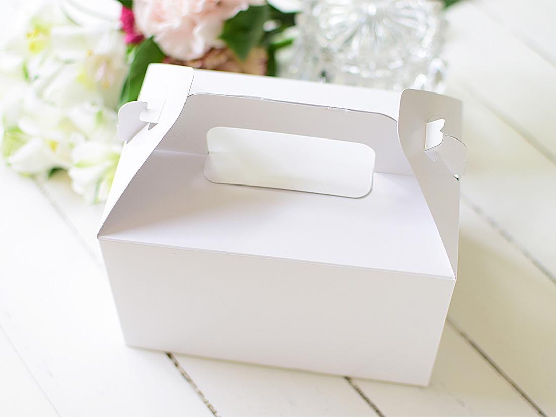 ケーキ箱 手提トップオープンNC 4×6