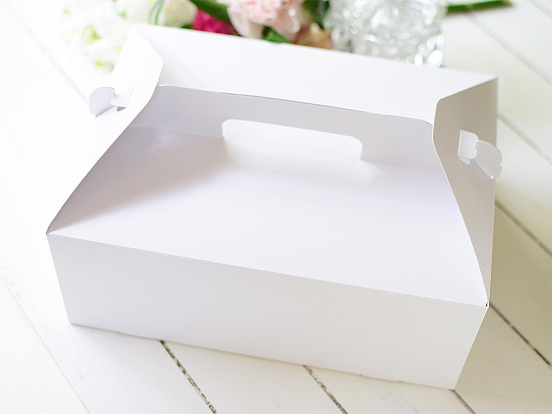 ケーキ箱 手提トップオープンNC 6×8