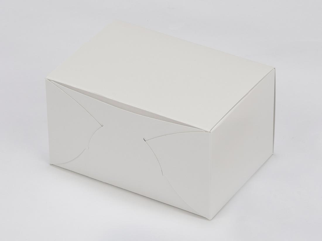 ケーキ箱 ホワイトショートNC No.5