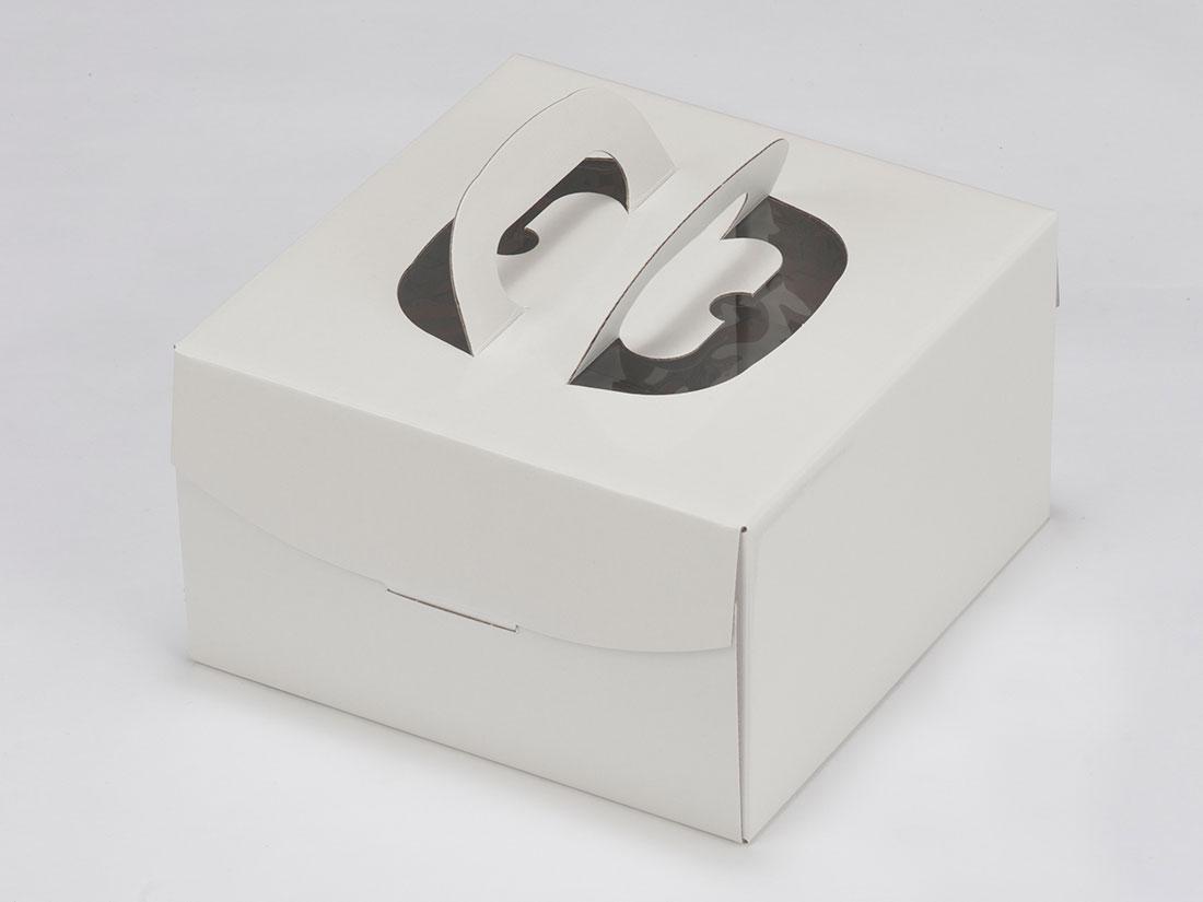 ホワイトデコNC L6寸H130(トレーなし)