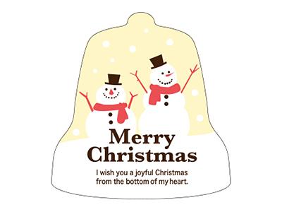 クリスマスシール ベル 大