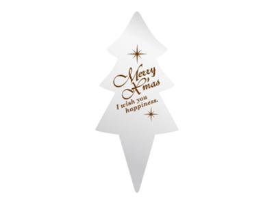 クリスマスピック ツリーシルバー