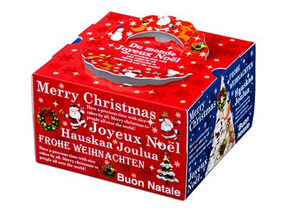 クリスマスデコ箱 TD ワールド 6寸用(トレーなし)