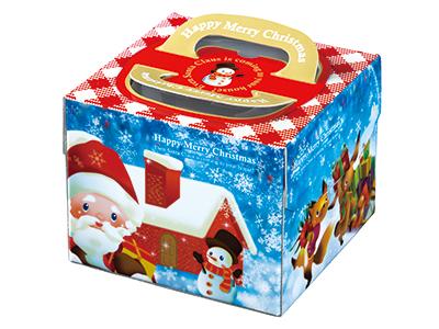 クリスマスデコ箱 H150 PFB トパーズ 5寸用(トレーなし)
