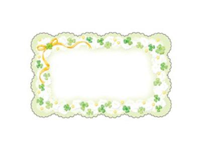 16-660 ファンタジーカード ホワイトクローバー(15枚入)