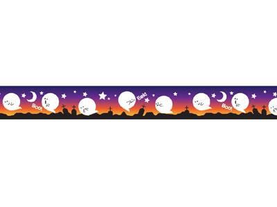 ハロウィンマスキングテープ フローティングゴースト
