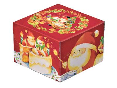 デコ箱 おいしい秘密 赤130 6号(トレーなし)