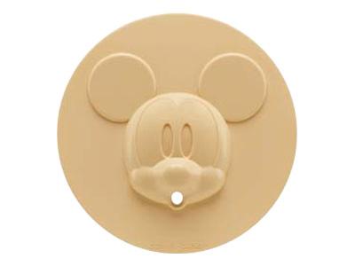 ミッキーマウスシリコン製落としぶた(大)