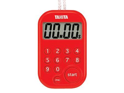 TANITA TD-379-RD デジタルタイマー100分計(レッド)