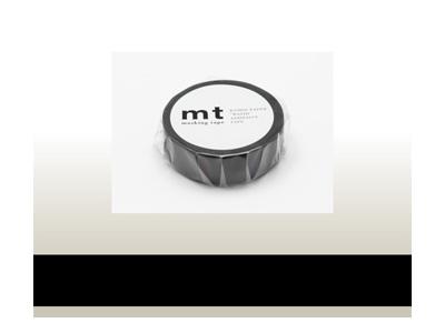 mt 1P マットブラック 15mm