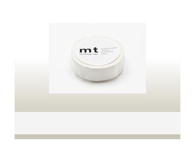mt 1P マットホワイト 15mm