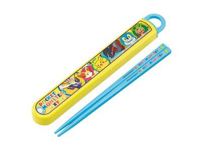 食洗機対応スライド箸&箸箱セット ポケモン XY(イエロー)