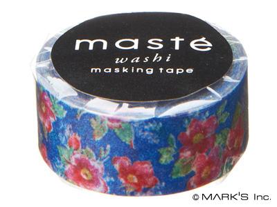 Mテープ ロマンティックフラワー(フラワー/ブルー)