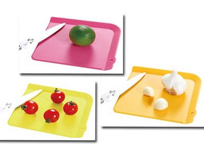 プルミエ 使い分け抗菌プチまな板(3枚入り)