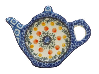 ポーランド食器 Ceramika U3-555 ティーバッグプレート