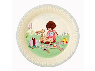 TT 紙皿/Belle&Boo Ver2 (8枚入)