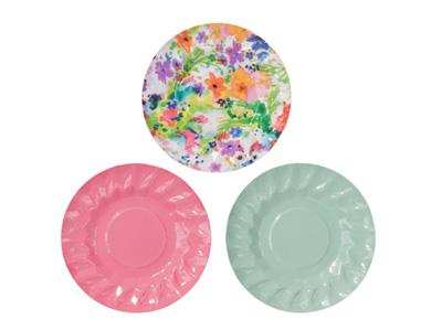 TT 紙皿(ミニ)/フローラルフィエスタ (計12枚入)