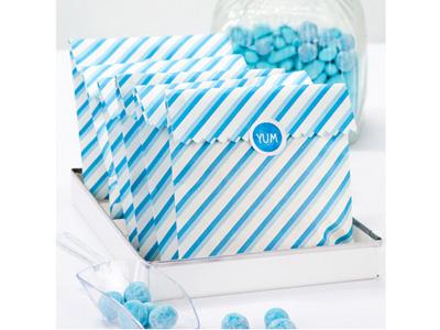 TT 紙袋10枚入/ブルー