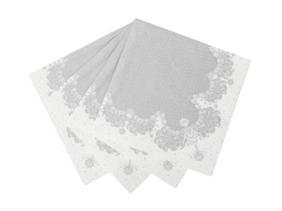 TT 紙ナプキン/シルバー (20枚入)