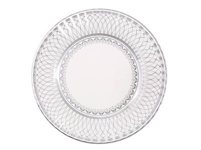 TT 紙皿/シルバー (8枚入)