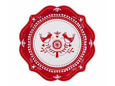 TT  紙皿/ ロシアンクリスマス (8枚入)
