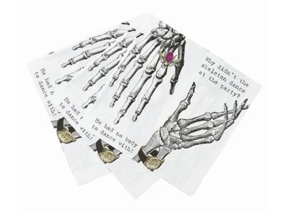 TT 紙ナプキン/ ガイコツ (20枚入)