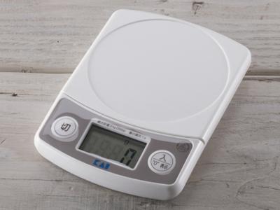 デジタルスケール2kg ホワイト