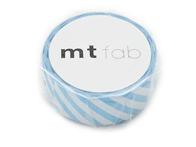 mt fab ストライプ・ライトブルー×ホワイト 15mm