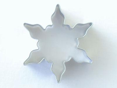 STADTER クッキー型  雪の結晶 5cm