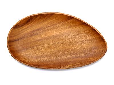 アカシア エッグ型トレー30.5cm