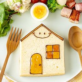 オリジナルおうち食パン型