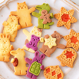 抱っこクッキー&オーナメントクッキー型