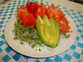 春の花壇サラダ