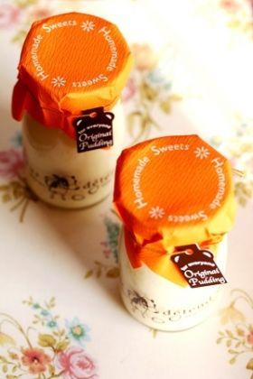 やさしいクリームチーズプリン*