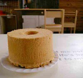 簡単 シフォン ケーキ