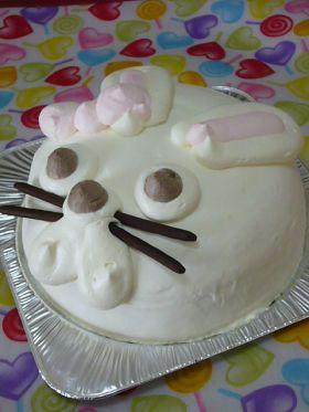 おとぼけ兎のお年始ケーキ